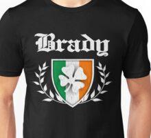 Brady Family Shamrock Crest (vintage distressed) Unisex T-Shirt