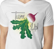 Turn Up Turnip Tee Mens V-Neck T-Shirt