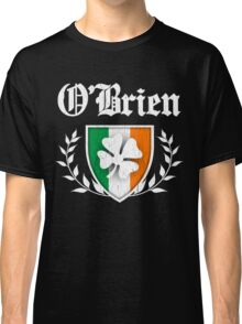 O'Brien Family Shamrock Crest (vintage distressed) Classic T-Shirt