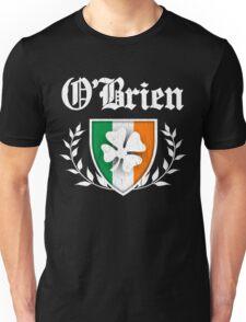 O'Brien Family Shamrock Crest (vintage distressed) Unisex T-Shirt