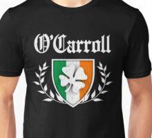 O'Carroll Family Shamrock Crest (vintage distressed) Unisex T-Shirt
