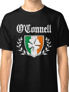 O'Connell Family Shamrock Crest (vintage distressed) Classic T-Shirt