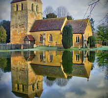 The Parish Church of St Bartholomew's Fingest - HDR by Colin  Williams Photography