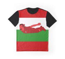 Gareth Bale Welsh Dragon Graphic T-Shirt