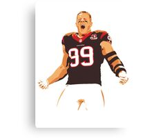 JJ Watt - Houston Texans Canvas Print