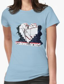Cool heart.  Womens Fitted T-Shirt