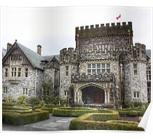 Hatley Castle - Side view Poster
