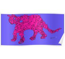 Cat 2 -(060314)- Digital artwork/Dr Doobs, Harmony Poster