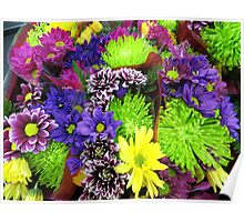 Spring Posies Poster