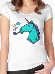 Sailor Unicorn Women's Fitted Scoop T-Shirt