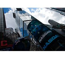 Neon Lights and Ads - Times Square, Manhattan, New York City, USA Photographic Print