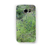 Blue Butterfly Frenzy Samsung Galaxy Case/Skin