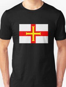 Flag of Guernsey Unisex T-Shirt