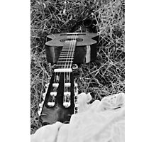 Music Guitar Photographic Print