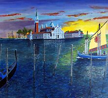 Venice Dawn by WILT