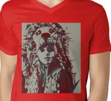 Solara HateBad Mens V-Neck T-Shirt