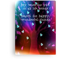 My Wish For You Canvas Print
