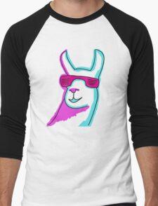 Cool Llama Men's Baseball ¾ T-Shirt