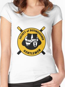 The Society of Distinguished Gentlemen Women's Fitted Scoop T-Shirt