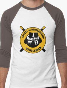 The Society of Distinguished Gentlemen Men's Baseball ¾ T-Shirt