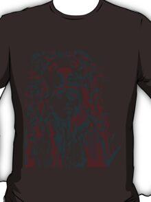 negative space war T-Shirt