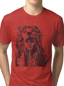 negative space war Tri-blend T-Shirt