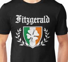 Fitzgerald Family Shamrock Crest (vintage distressed) Unisex T-Shirt