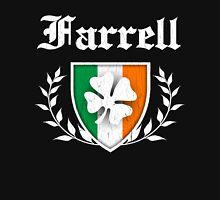 Farrell Family Shamrock Crest (vintage distressed) Unisex T-Shirt
