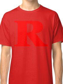 Rated R Red Ink Classic T-Shirt