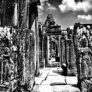 Bayon Temple by Sam  Parsons