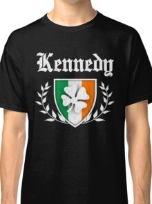 Kennedy Family Shamrock Crest (vintage distressed) Classic T-Shirt