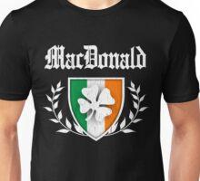 MacDonald Family Shamrock Crest (vintage distressed) Unisex T-Shirt