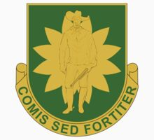 304th Military Police Battalion - Comis Sed Fortitier by VeteranGraphics