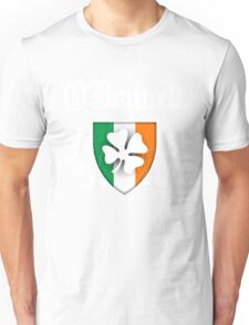 O'Donnell Family Shamrock Crest (vintage distressed) Unisex T-Shirt