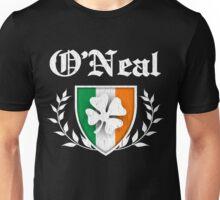 O'Neal Family Shamrock Crest (vintage distressed) Unisex T-Shirt