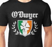O'Dwyer Family Shamrock Crest (vintage distressed) Unisex T-Shirt