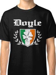 Doyle Family Shamrock Crest (vintage distressed) Classic T-Shirt