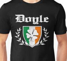 Doyle Family Shamrock Crest (vintage distressed) Unisex T-Shirt