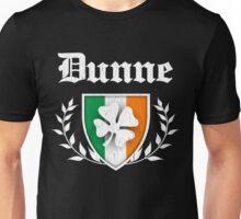 Dunne Family Shamrock Crest (vintage distressed) Unisex T-Shirt