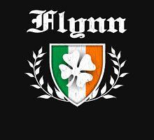 Flynn Family Shamrock Crest (vintage distressed) Unisex T-Shirt