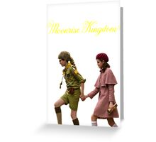 Moonrise Kingdom- Sam and Suzy Greeting Card