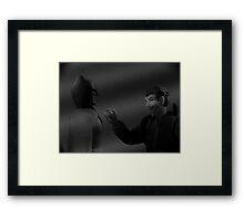 The Film Noir Knight Framed Print