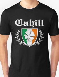 Cahill Family Shamrock Crest (vintage distressed) T-Shirt