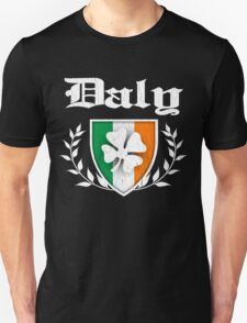 Daly Family Shamrock Crest (vintage distressed) T-Shirt