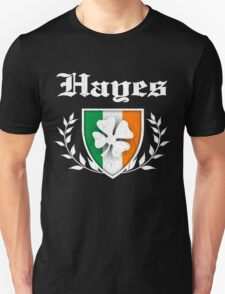 Hayes Family Shamrock Crest (vintage distressed) T-Shirt