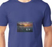 Swan Lake at Sunset Unisex T-Shirt