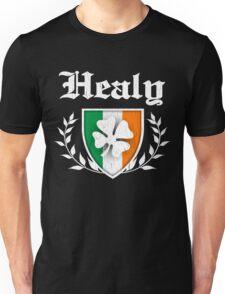 Healy Family Shamrock Crest (vintage distressed) Unisex T-Shirt