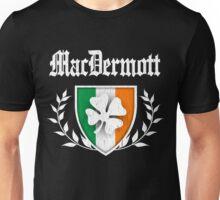 MacDermott Family Shamrock Crest (vintage distressed) Unisex T-Shirt