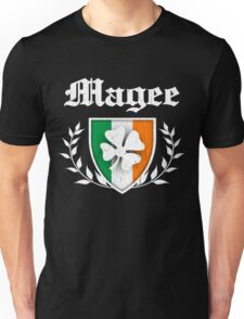 Magee Family Shamrock Crest (vintage distressed) Unisex T-Shirt