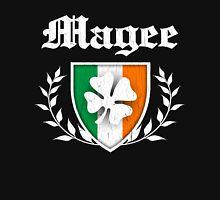 Magee Family Shamrock Crest (vintage distressed) Unisex T-Shirt